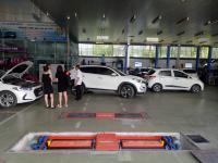 Lắp đặt hệ thống xưởng sửa chữa ô tô Hyundai Cà mau